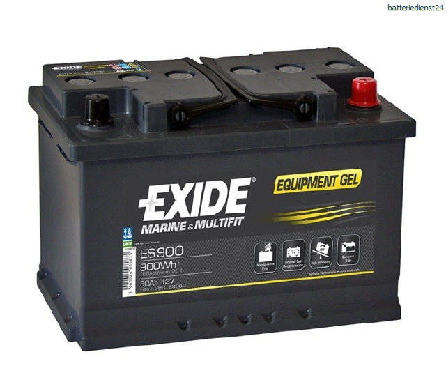 Langzeitenladebatterie EXIDE Equipment Gel