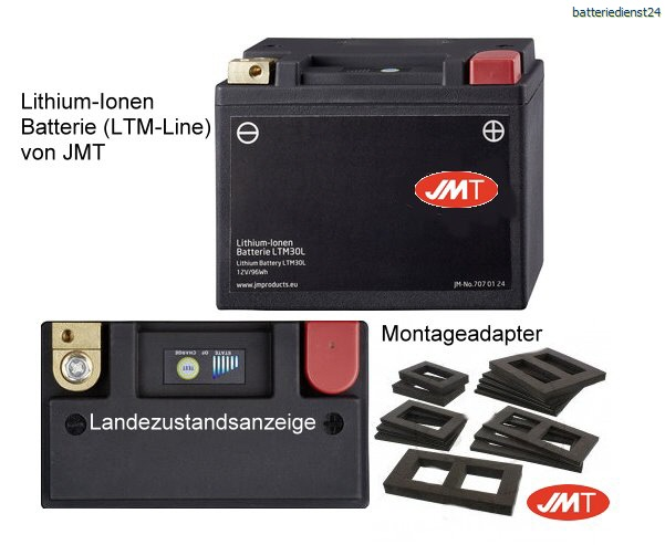 Power Sports Lithium-Ionen Batterien der LTM-Line